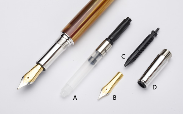 Fountain Pen Components