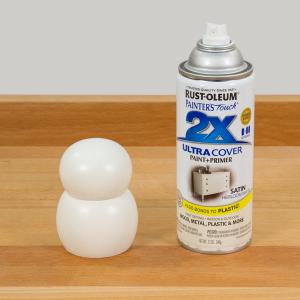 Paint multiple light coats to avoid drips or runs