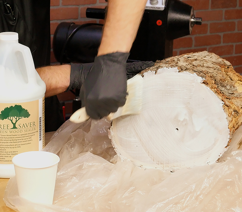 Tree Saver Green Wood Sealer Craft Supplies Usa